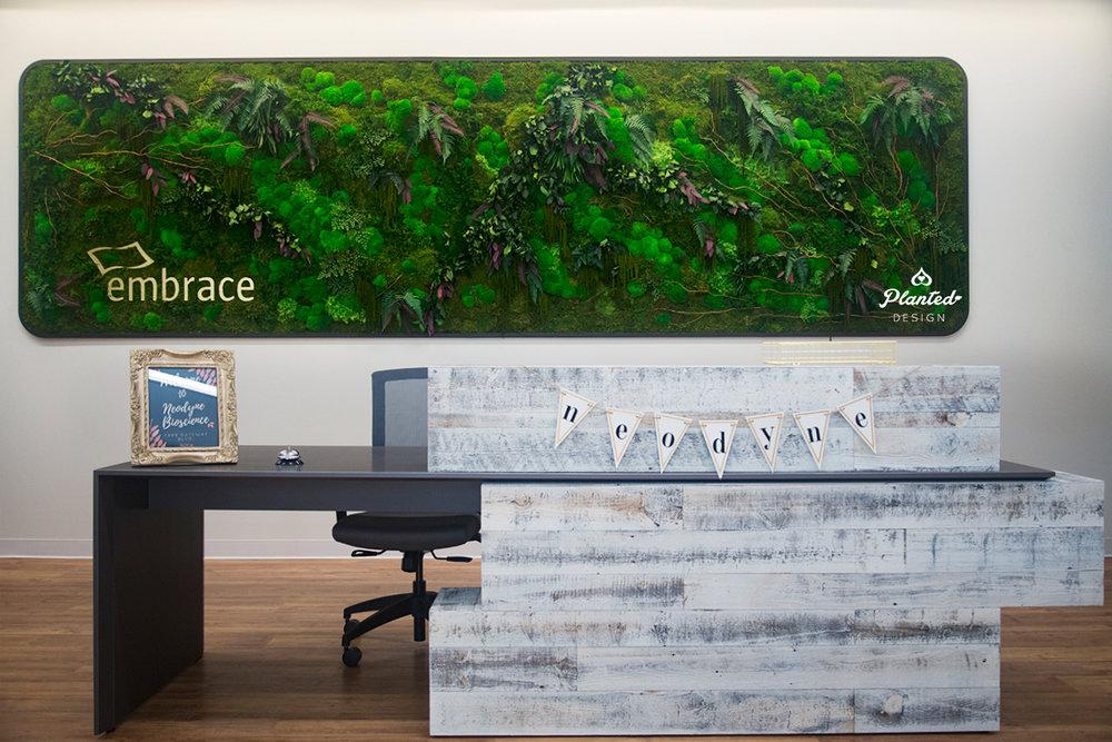 Neodyne  - Reception Moss Wall