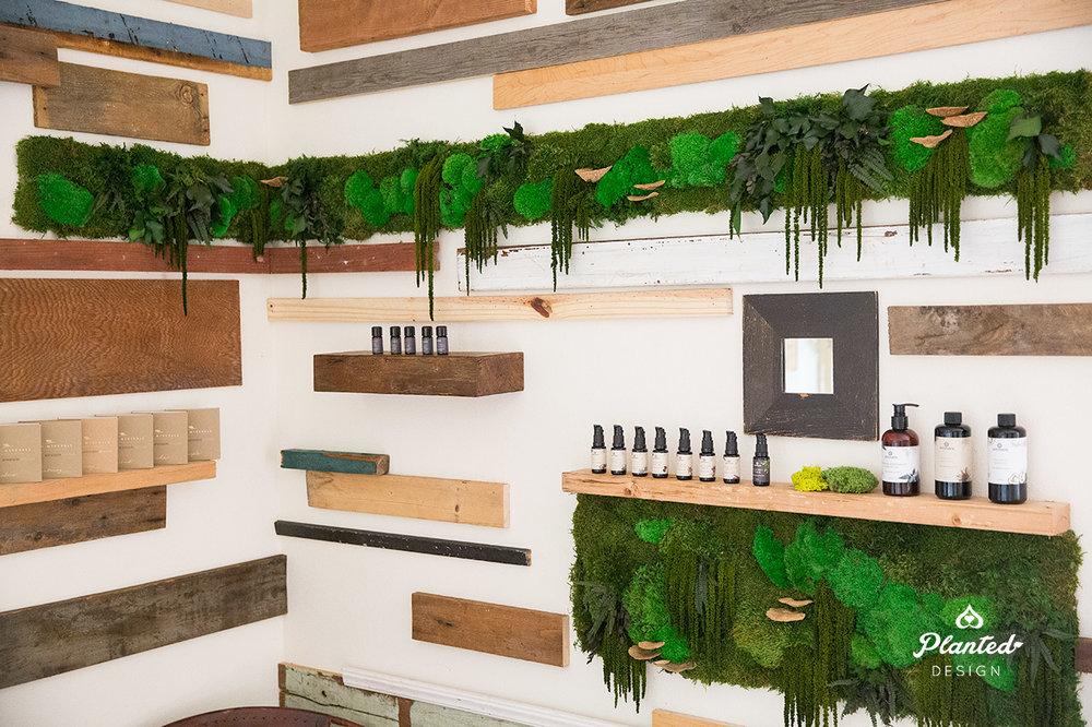 Annm  arie Skin Care  - Moss Wall
