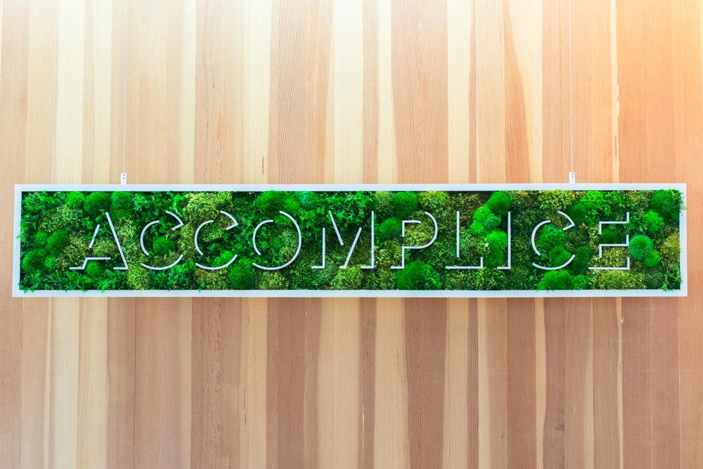 Accomplice  - Moss Wall
