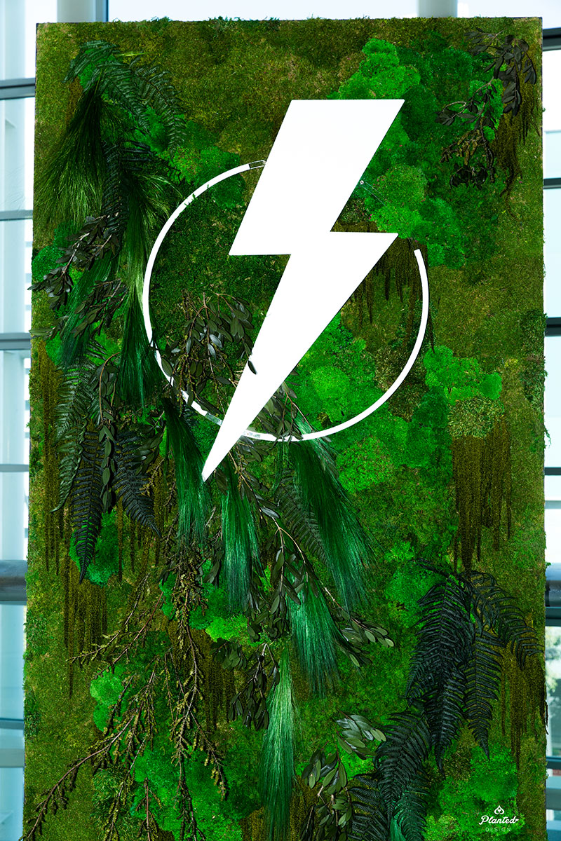 Salesforce - Rental Moss Wall