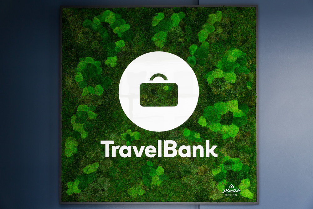 Travel Bank  — Moss Wall