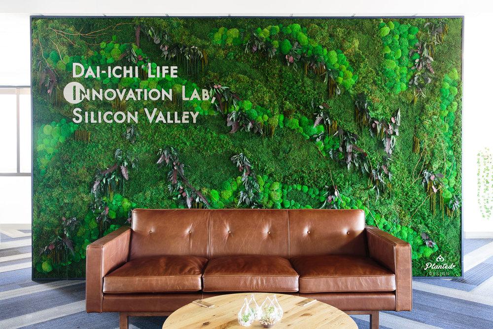 Dai-ichi Life  — Moss Wall