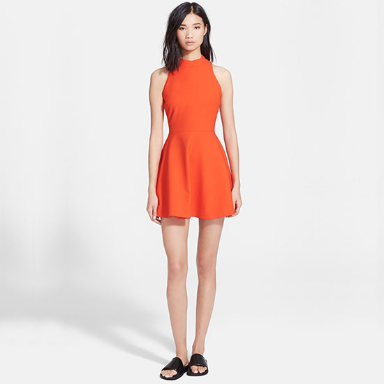 Elizabeth and James 'Elle' Fit & Flare Racerback Dress