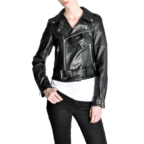 Amarcord Recycled Leather Jacket
