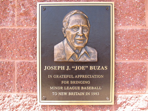 "Joseph J. ""Joe"" Buzas Plaque"