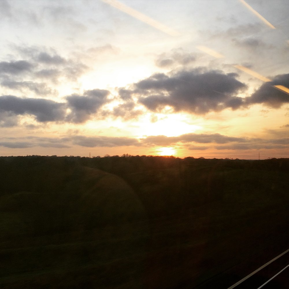Racing the sun to Dorset