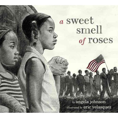A Sweet Smell of Roses, cover illustration by Eric Velasquez