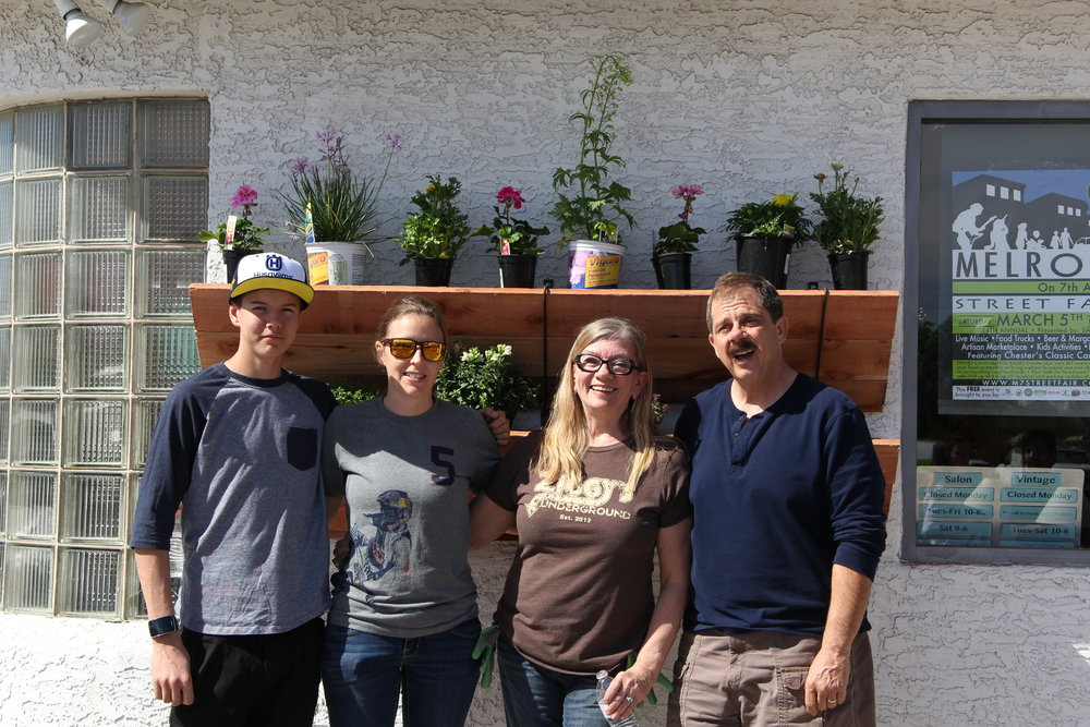 Community Alliance of Seventh Avenue Planter Boxes