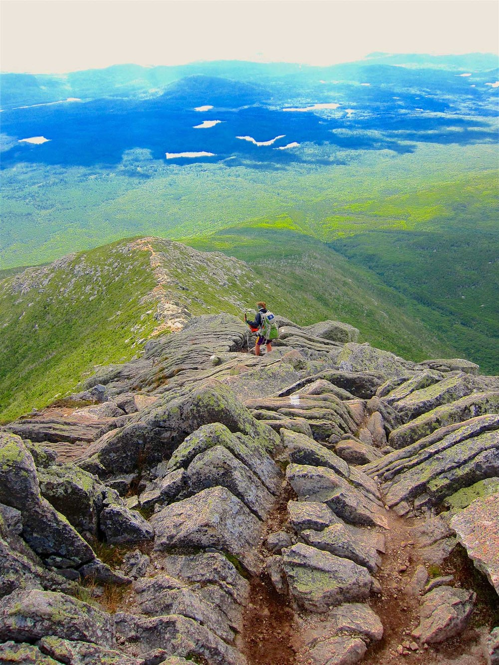 Hunt Trail. Mount Katahdin, Maine.