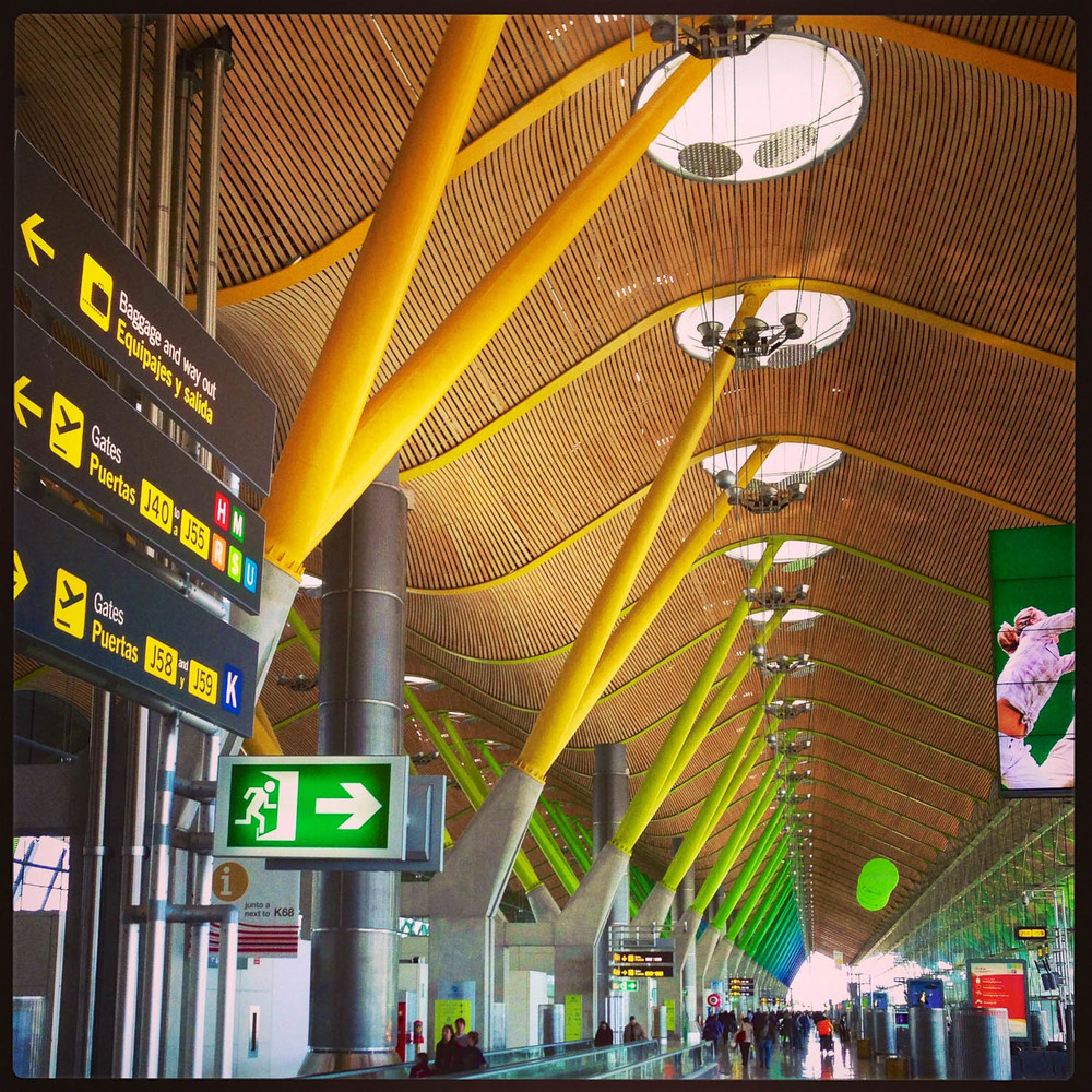 Barajas International Airport. Madrid.
