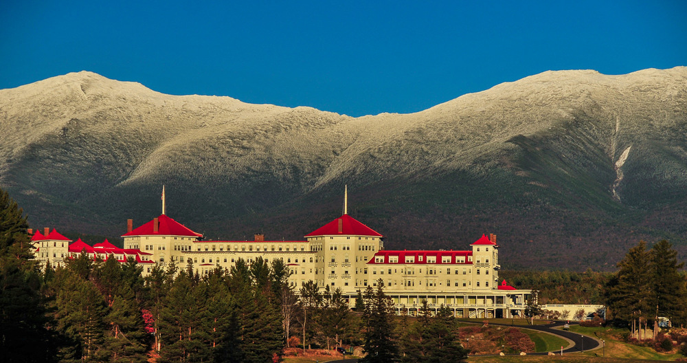 Mount Washington Hotel. New Hampshire.