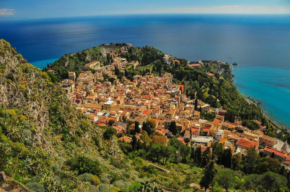 Taormina, Sicily.