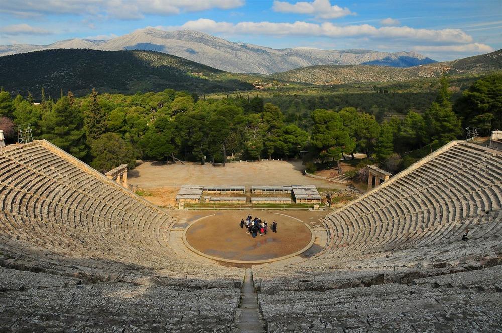 Epidaurus, Greece.