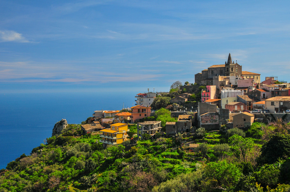 Forza d'Argo, Sicily.