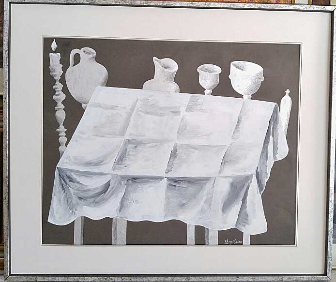 Simon Shegelman (Russian Canadian), Oil on Paper, Size: 26 x 31, Est. Value 3,000.00 Price: 650.00