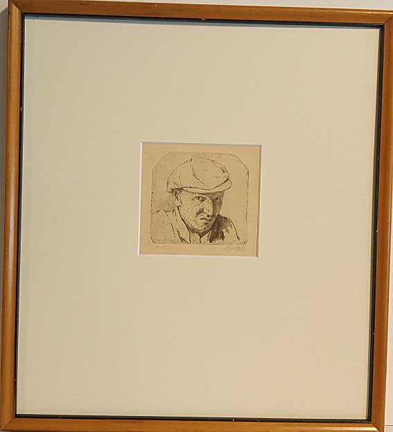 Ladislav Cepelak, Czech, Etching, Size: 14 x 15, Estimated Value: 425.00, Price: 145.00