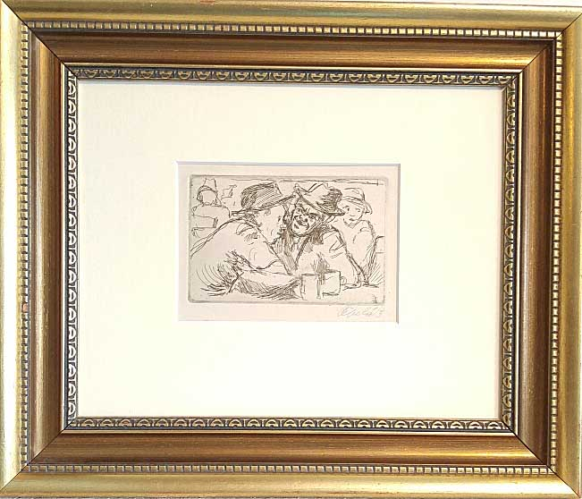 Ladislav Cepelak, Czech, Etching, Size: 13 x 16, Estimated value: 475.00, Price: 175.00
