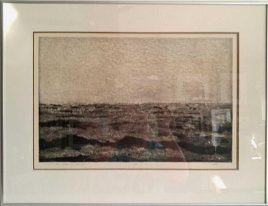 Arnold Saper, Item: 594, Original Print 9/50, Size: 19 x 24, Price: 265.00