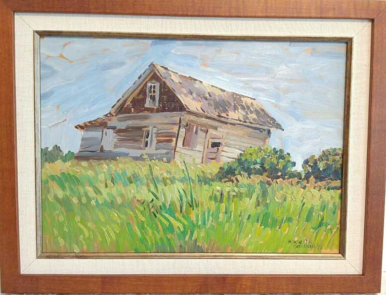 Kenneth Gordon, Manitoba, Oil on Board, Size: 13 x 17, Est. Value: 650.00, Price: 295.00