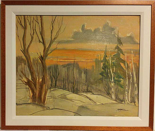 Graham Noble Norwell RCA, Canada, Oil on Board, Size: 22 x 26, Price: 395.00