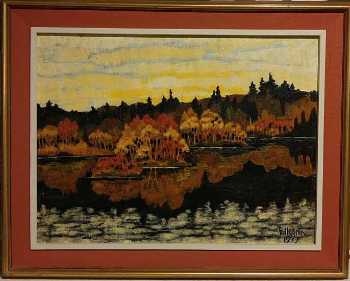 Bruce Pellegrin PhD, Nova Scotia, Oil on board, Size: 29 x 23, Price: 295.00