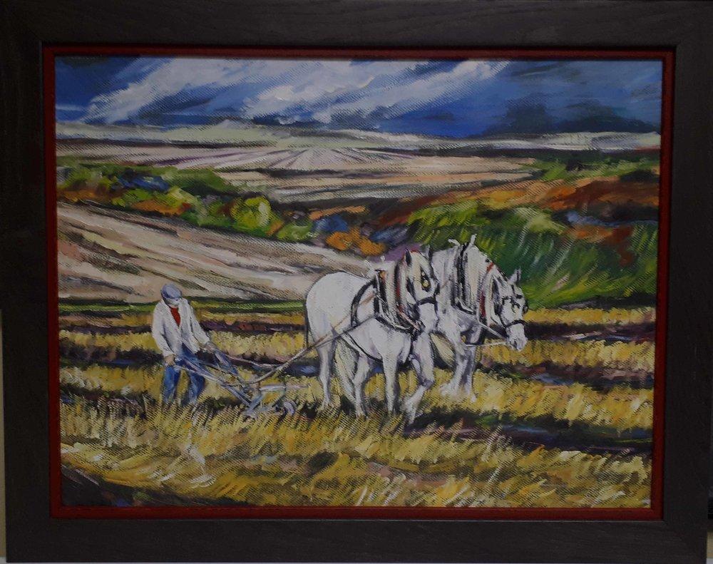 Debra Cardaci, Manitoba, Acrylic on paper, Size: 28 x 22, Price: 235.00