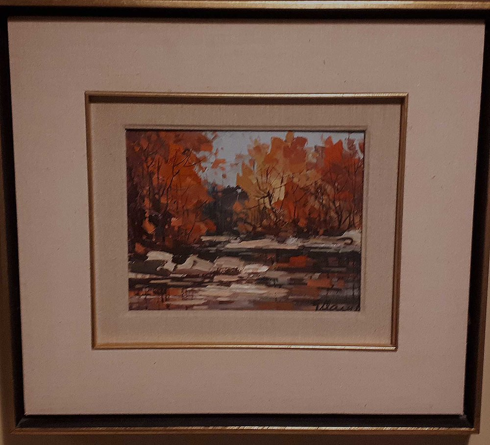 Geza/Gordon Marich (1913 - 1982) Hungarian/Canadian, Oil on board, Size: 19 x 17, Price: 350.00 for pait