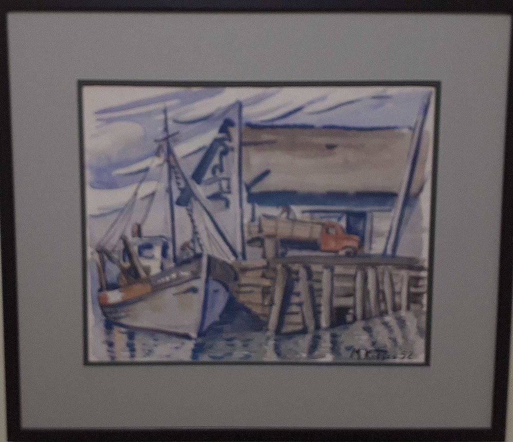 Marielouise Kreyes MSA, SCA Watercolour, Size: 28 x 24, Price: 265.00