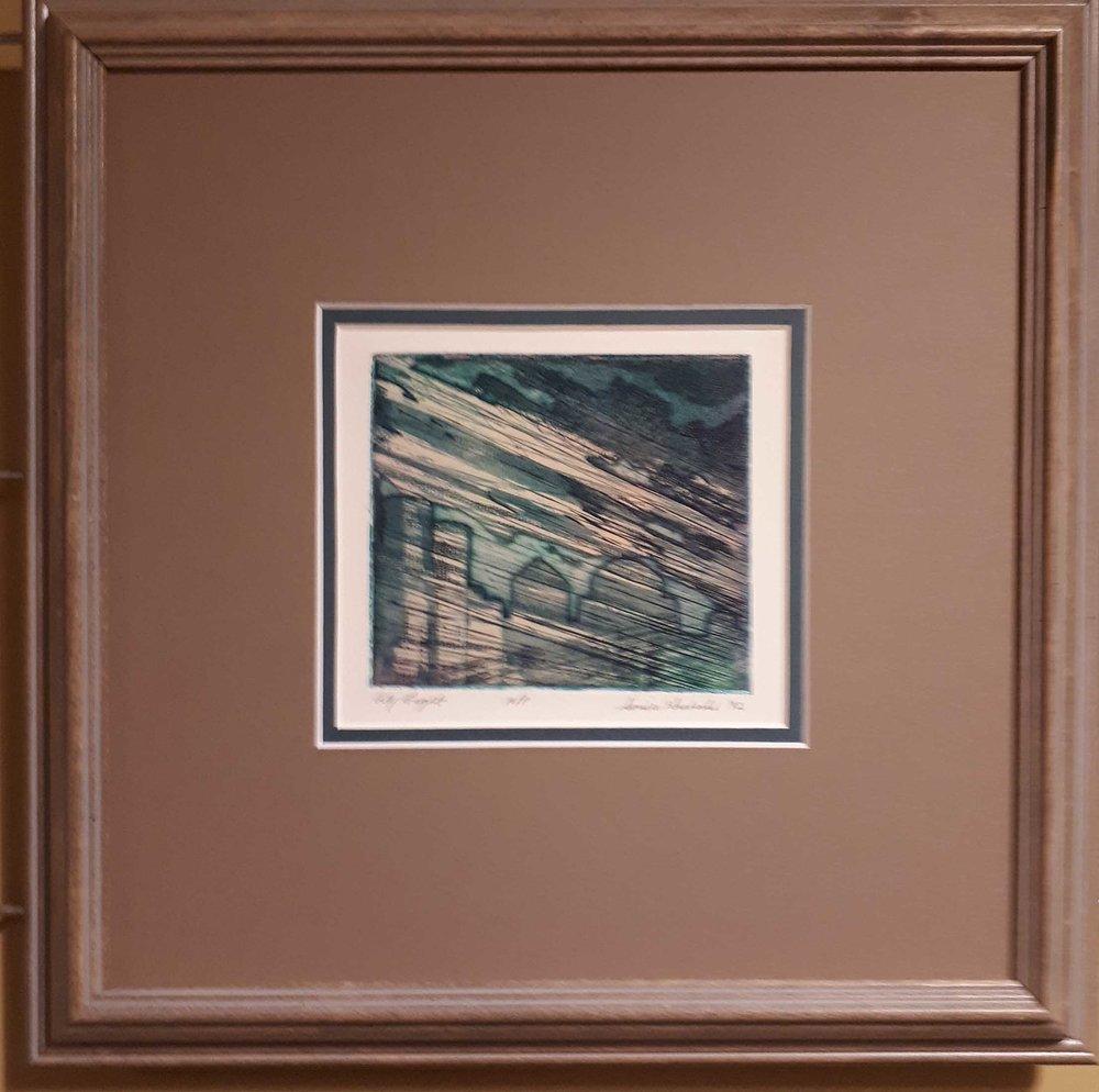 Sonia Graboski (Manitoba), Original Print, Artist Proof, 1992, Size: 15 x 15, Price: 155.00
