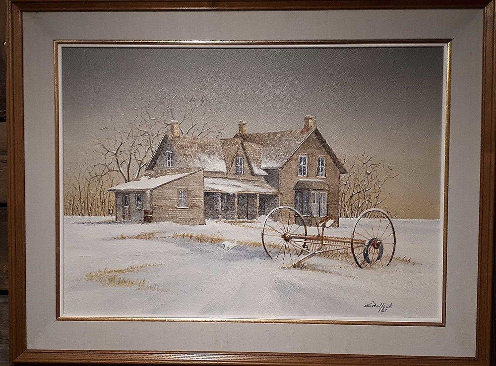 Ron Pollock, Manitoba, Price: 325.00