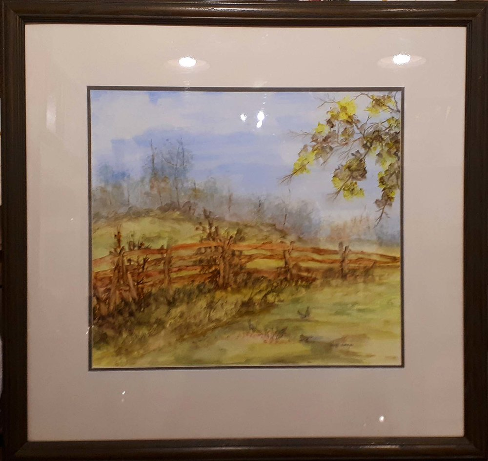 Dawn Swartz, Watercolour, Size: 26 x 25, Price: 295.00