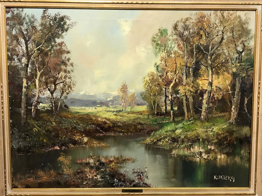 Heinz Klaiberg, Germany, Size: 38 x 30, Price: 240.00