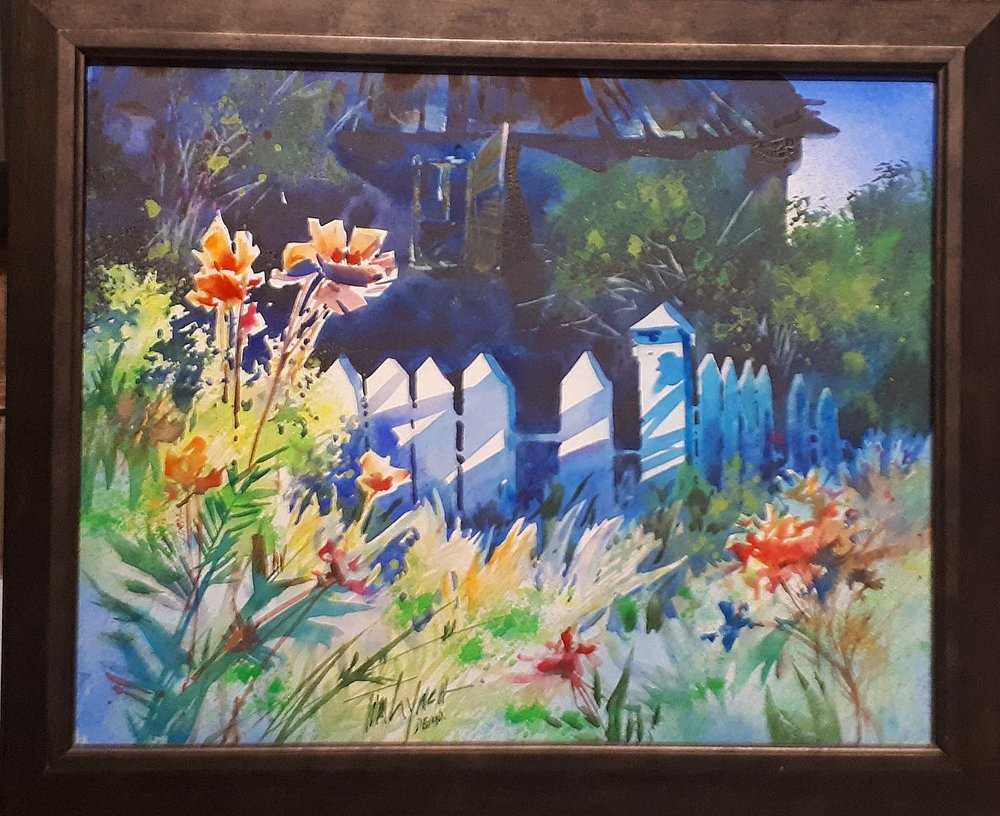 Tom Lynch, American, Watercolour, Size: 23 x 19, Price: 350.00
