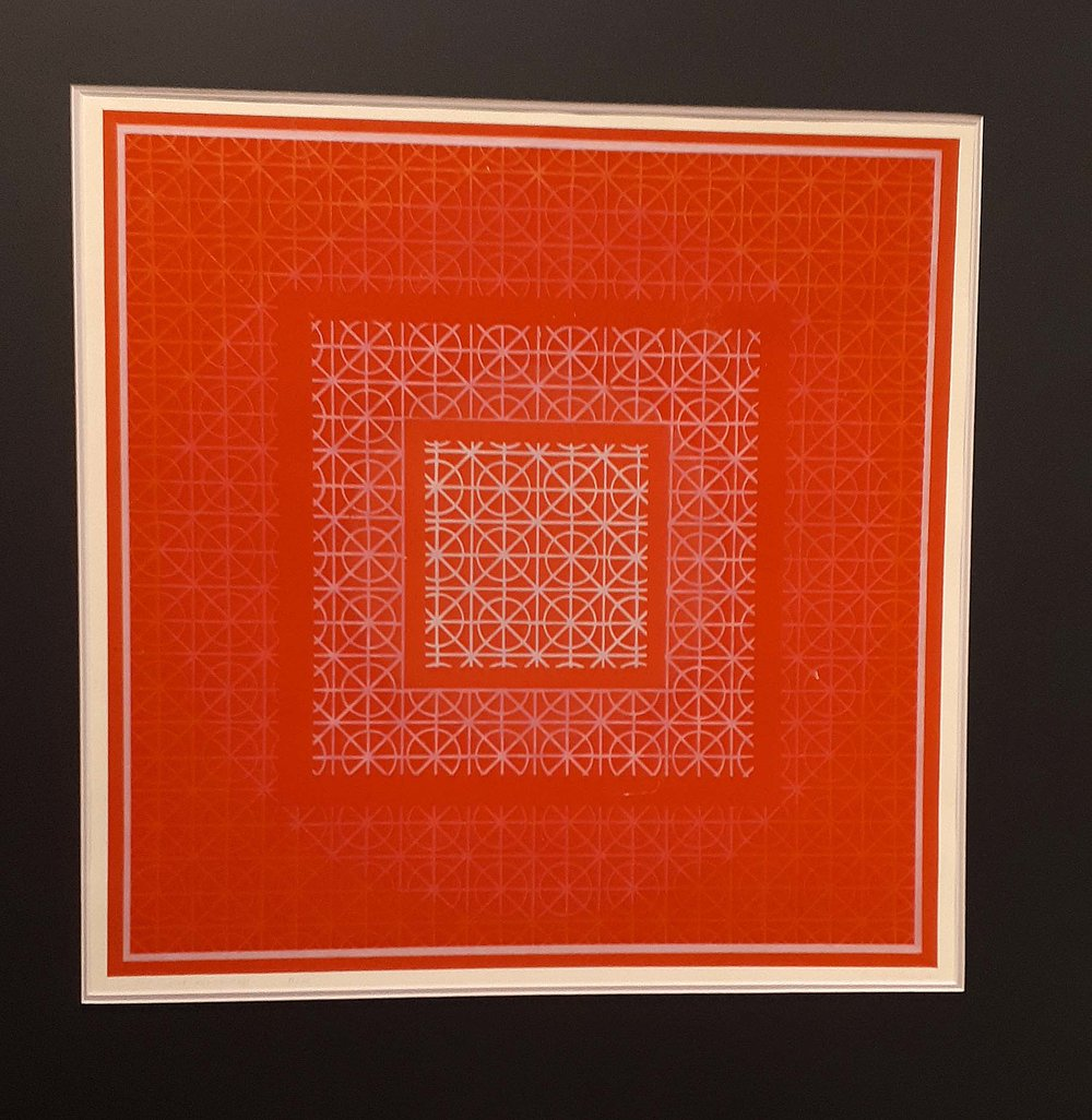 "Gordon Smith RCA, OC, Canadian, Original Print 51/75, ""Rep Circles and Squares"", Size: 29 x 29, Price: 425.00"