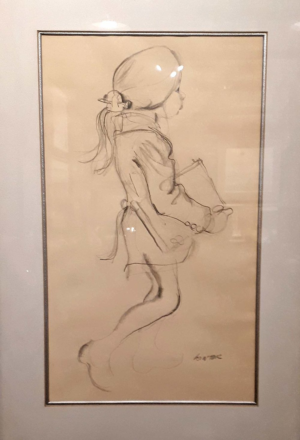 "William Winter RCA Canadian, Pencil, ""Girl"" Size: 16 x 23, Price: 325.00"