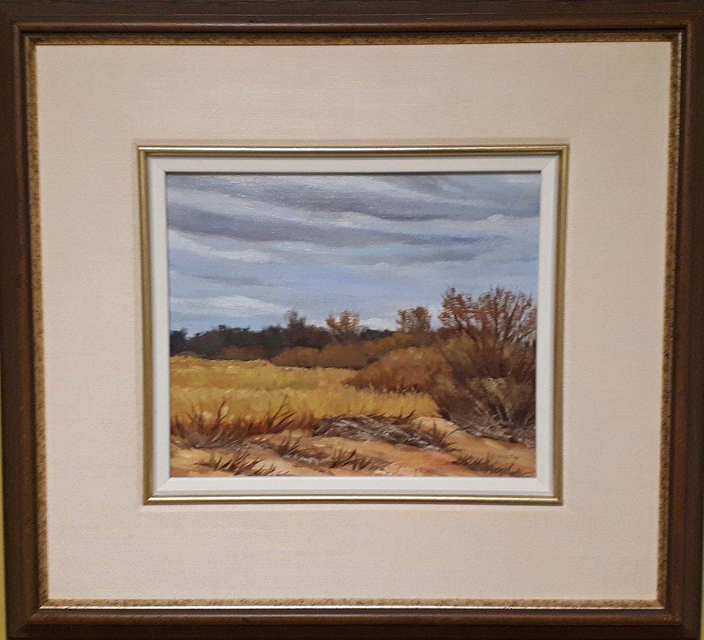 "Ken Martin MSA, ""The Marsh"" Ponemah Beach, 1976, Size: 20 x 22, Price: 265.00 or 475.00 Pair"