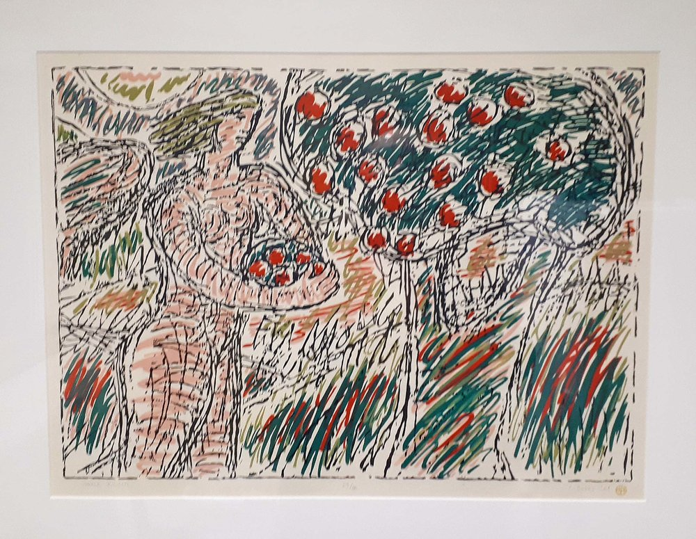 Caroline Dukes MSA, (1929 - 2008) Hungary/Canada, Original Print 1988, 29/50, Size: 30 x 24, Price: 450.00