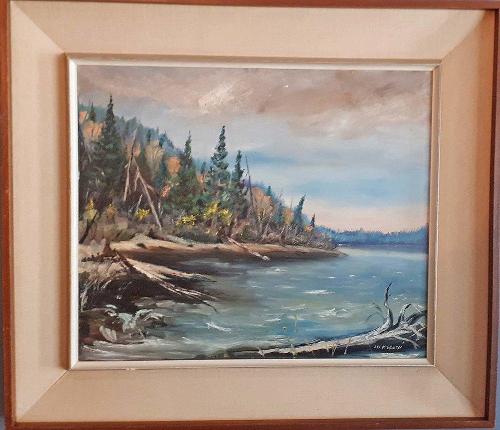 "Jim McGrath, ""North Fish Lake"", Size: 32 x 28, Price: 195.00"