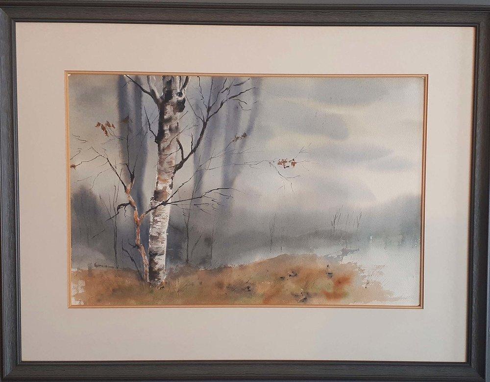 Karen Pederson, Alberta, Watercolour, Size: 28 x 22, Price: 275.00