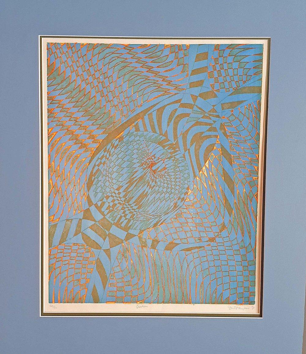 Stanley Hayter, U.K., Original Print 20/50, Size: 30 x 35, Est. Value 1,800.00 Price: 850.00