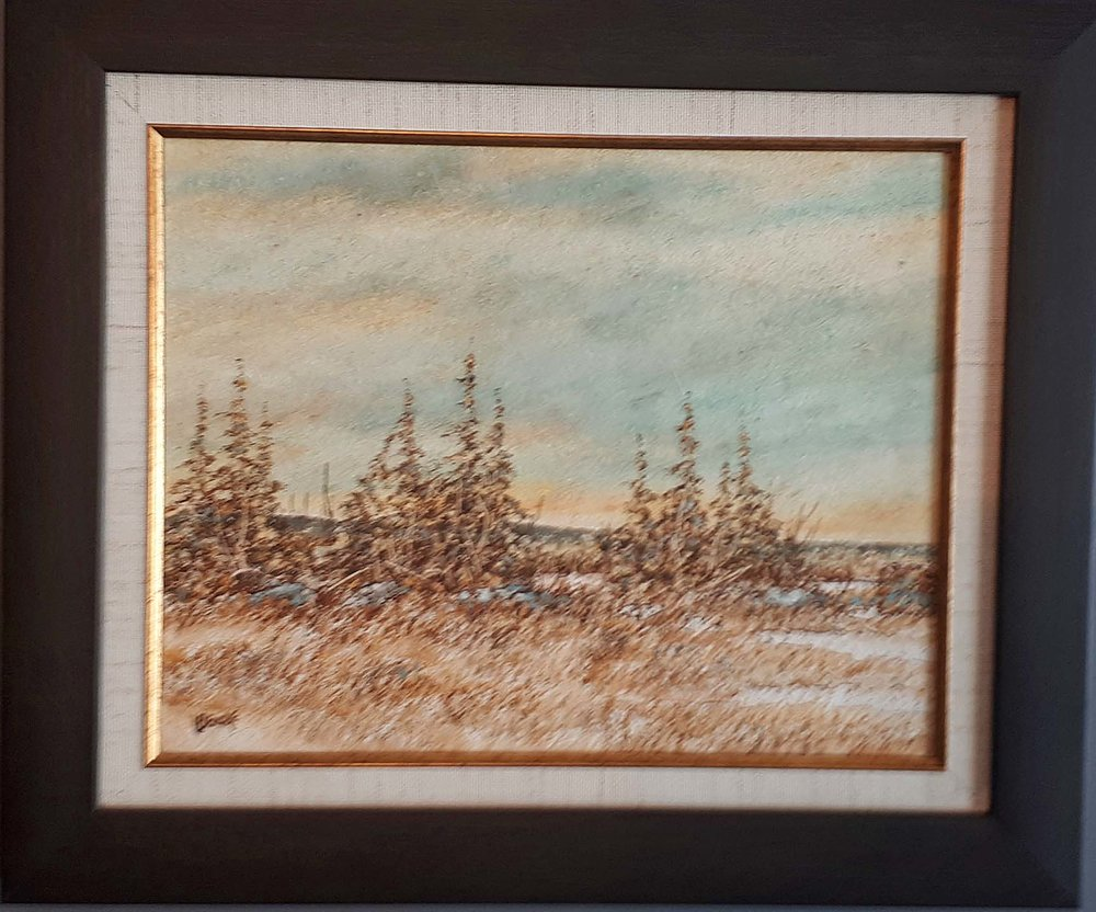"Henry Letendre, Sask., ""Autum North"", One of Two, Size: 19 x 16, Price: 375.00 for the Pair"