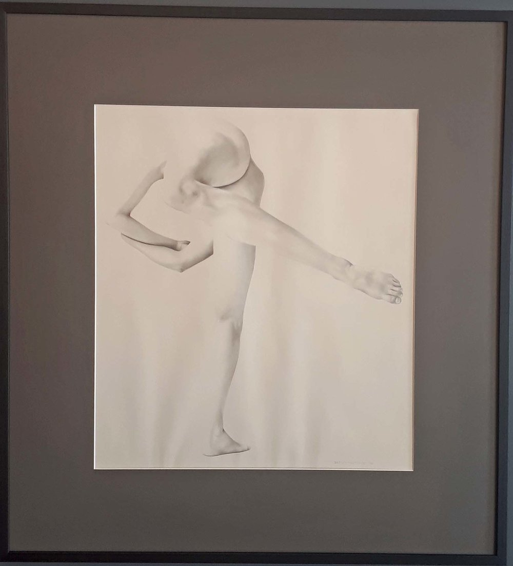 Drew McRitchie, B.C., Graphite on Paper, Size: 29 x 31, Price: 395.00