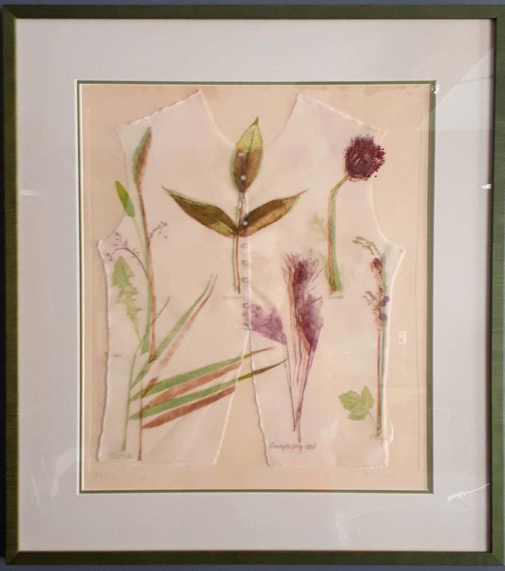 Jane Buyers RCA, Ontario, Mixed Media 5/15, Item 702, Size: 31 x 35, Price: 475.00