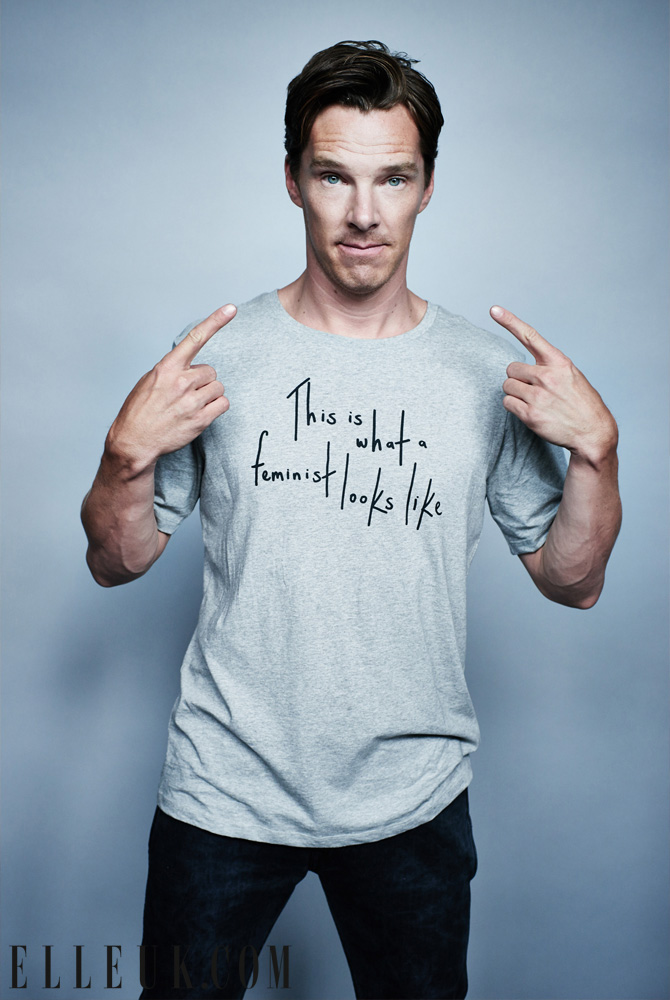 Benedict Cumberbatch, 2014, Image Courtesy of Elle.com
