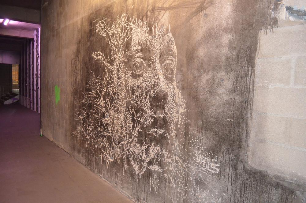 Graffiti at Palais De Tokyo, Paris.