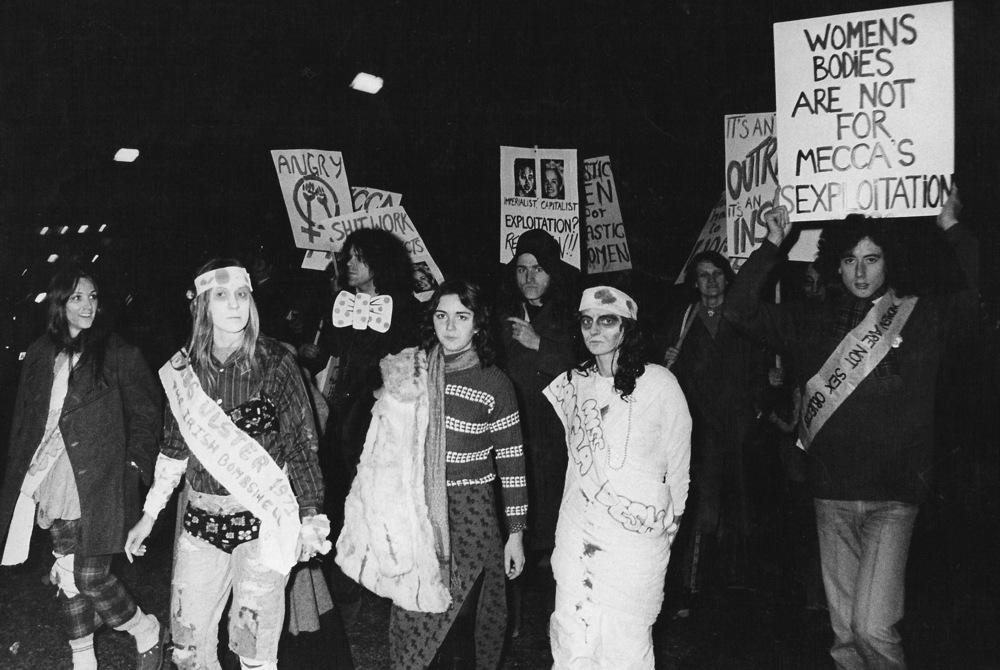 GLF Banner, Hype Park, 1971