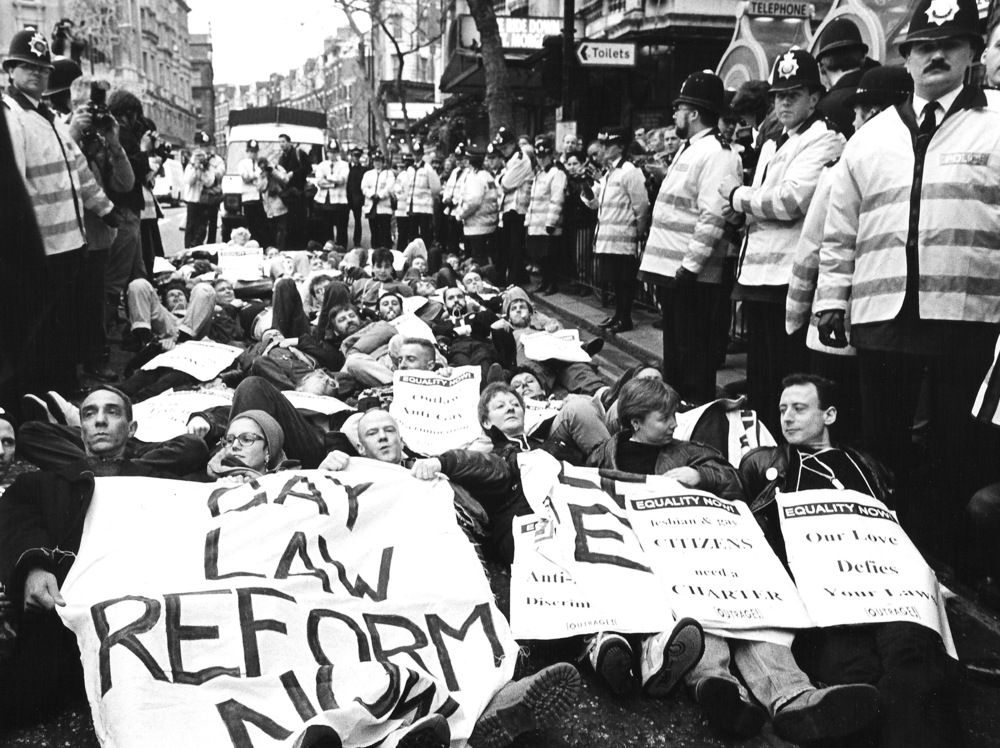 Equality Now March on Parliament, 1992
