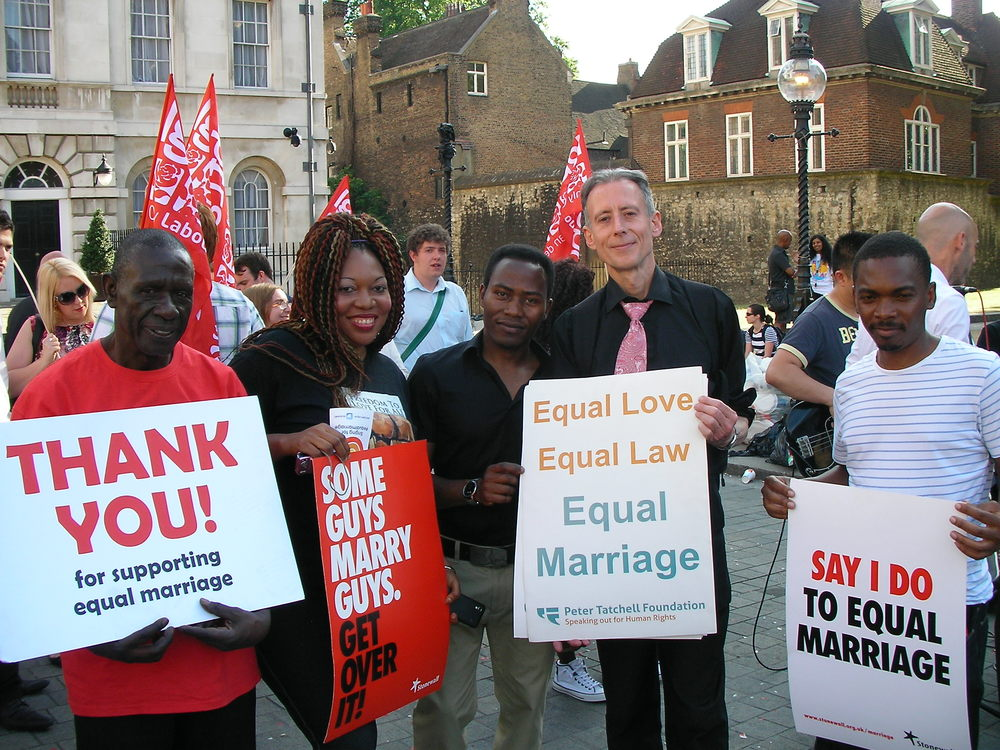 Same-sex marriage - Lords rally, 4 June 2013