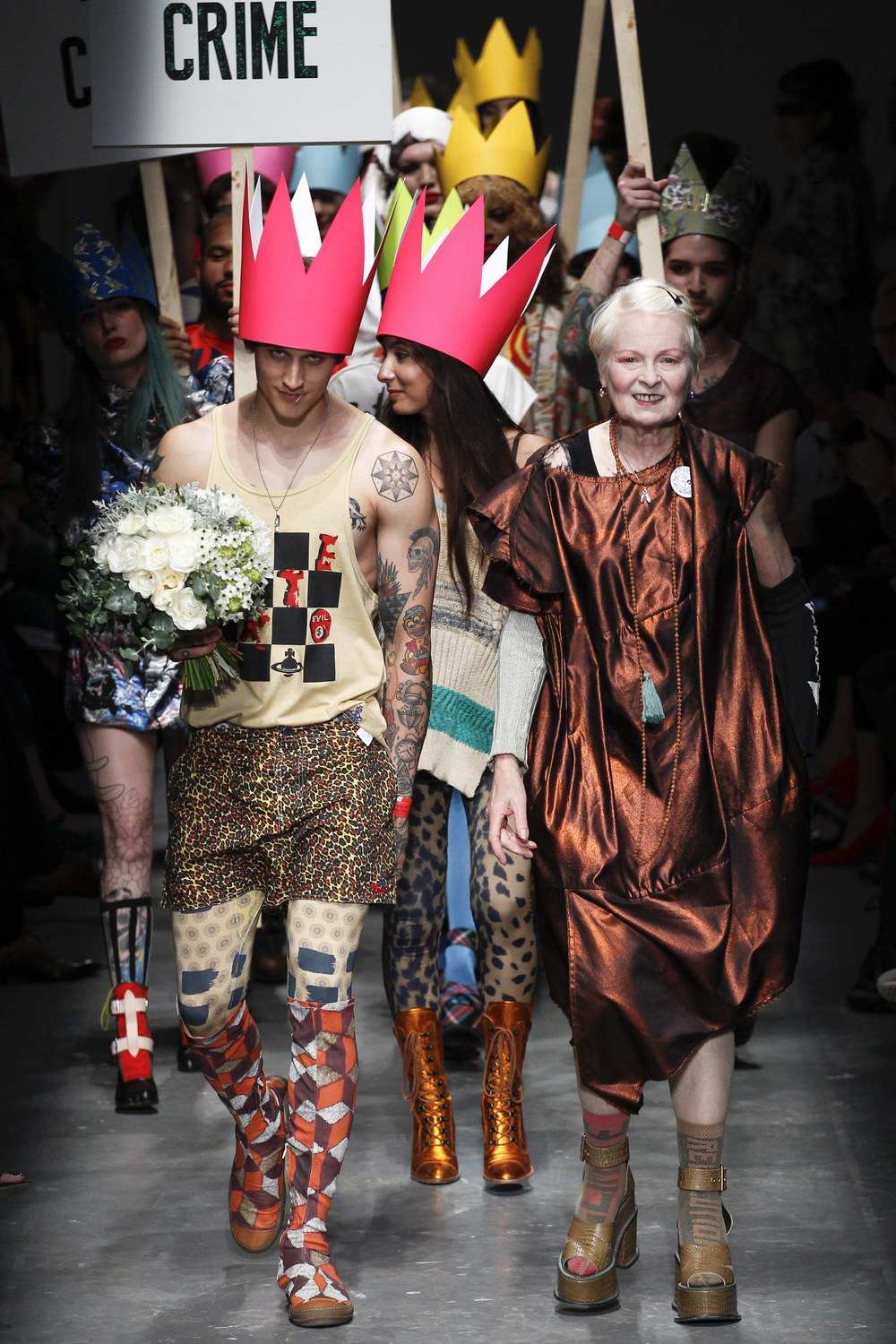 Vivienne Westwood Red Label Spring / Summer 2016, photo by  Vogue Runway