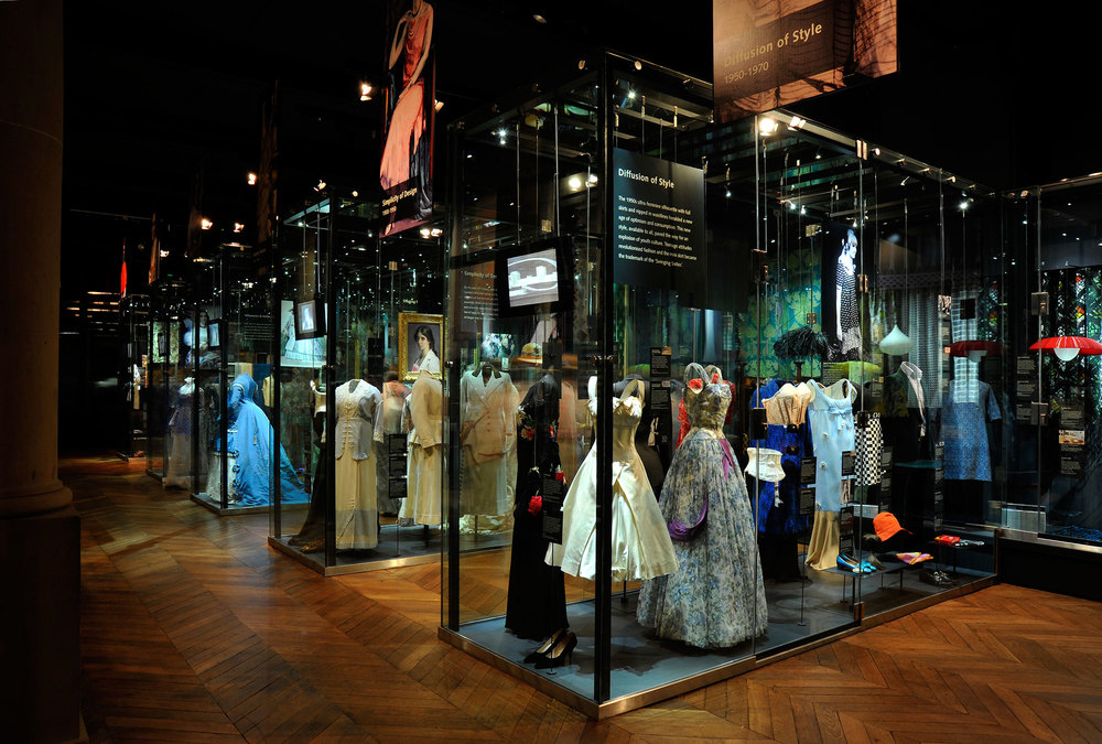 Diffusion of Style 1950 - 1970, The Bowes Museum